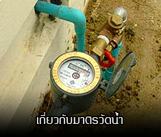 Information about water meter, reconnect water meter, left water meter service